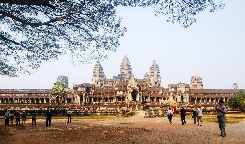 Angkor Wat, Cambodia, January of 2015.