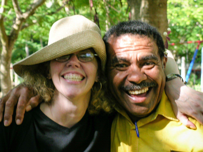 Making friends in Fiji!