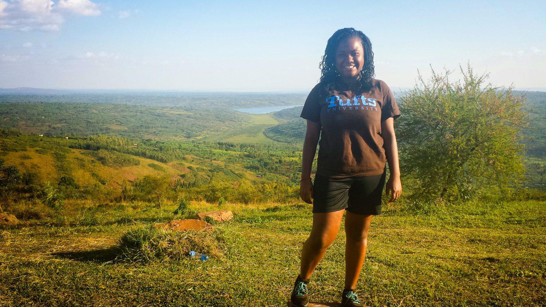 In the glow of the sun in Rwanda.