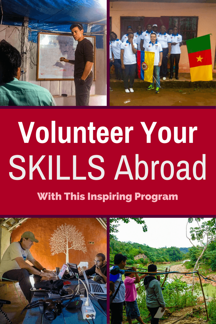 Volunteer Your Skills Abroad to Make a Real Impact With this Program While You Travel.