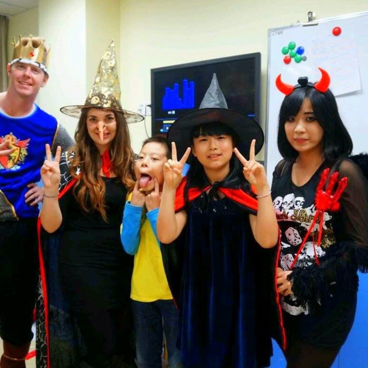 Teaching English in China: Halloween costumes!