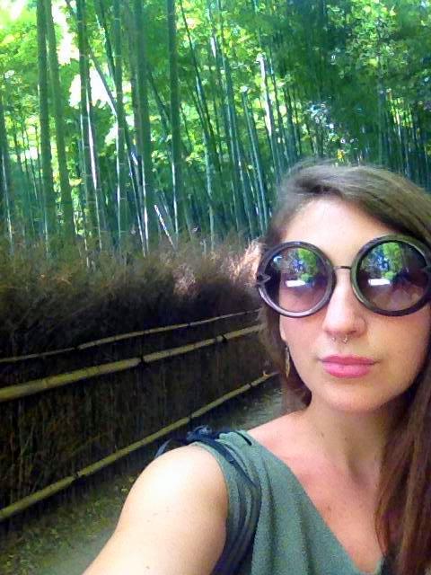 Shannon enjoying Japan.