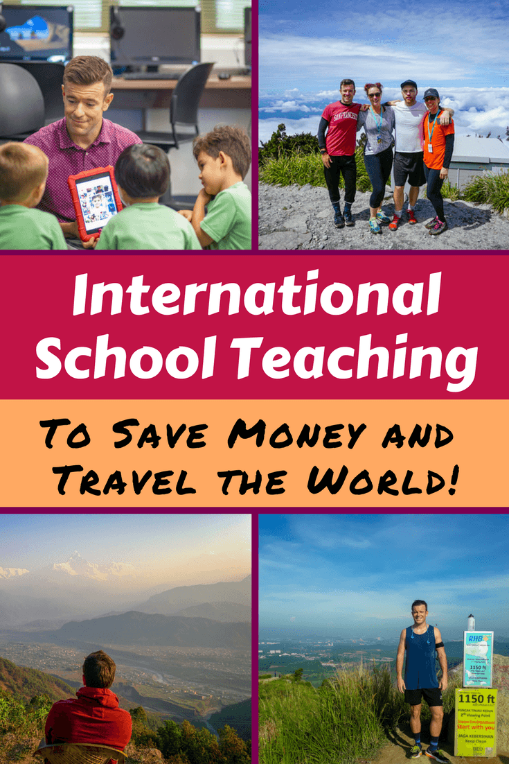 With a teaching job at an international school abroad, it's possible to save enough money to take time off and travel! Read how in this inspiring and useful interview.