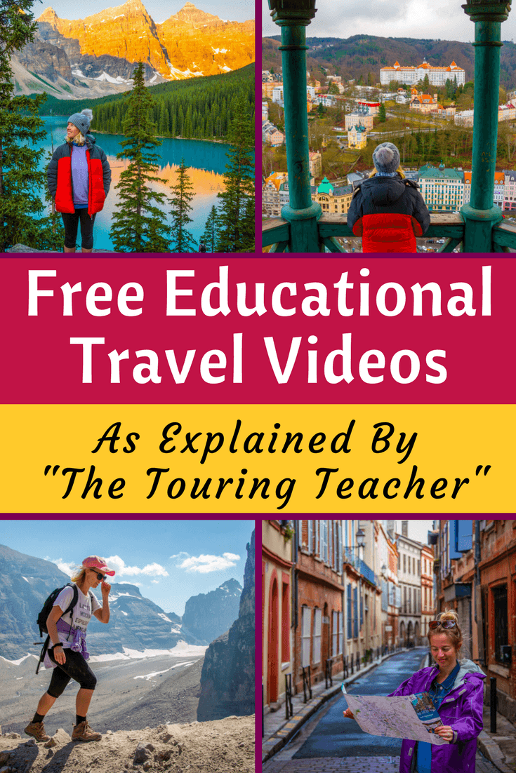 Free Educational Travel Videos by The Touring Teacher!