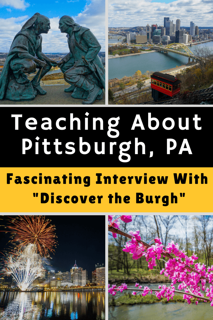 """Teaching others about your city is a beautiful kind of education! For Pittsburgh, PA, """"Discover the Burgh"""" has become a great resource for those looking to visit Pittsburgh, as well as locals looking for the best things to do around the city. #Pittsburgh #Travel"""