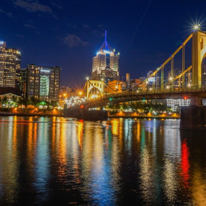 Pittsburgh from the North Shore River Trail.