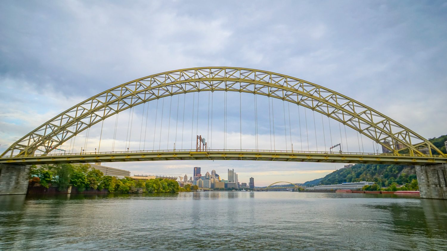 """Teaching others about your city is a beautiful kind of education! For Pittsburgh, PA, """"Discover the Burgh"""" has become a great resource for those looking to visit Pittsburgh, as well as locals looking for the best things to do around the city. Pictured: Pittsburgh's West End Bridge."""