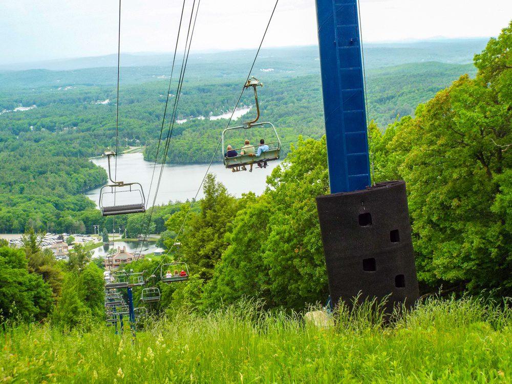 The lift at Mount Wachusett, Massachusetts.
