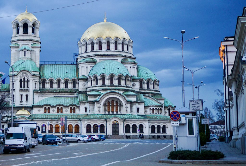 Domes of Sofia, Bulgaria.