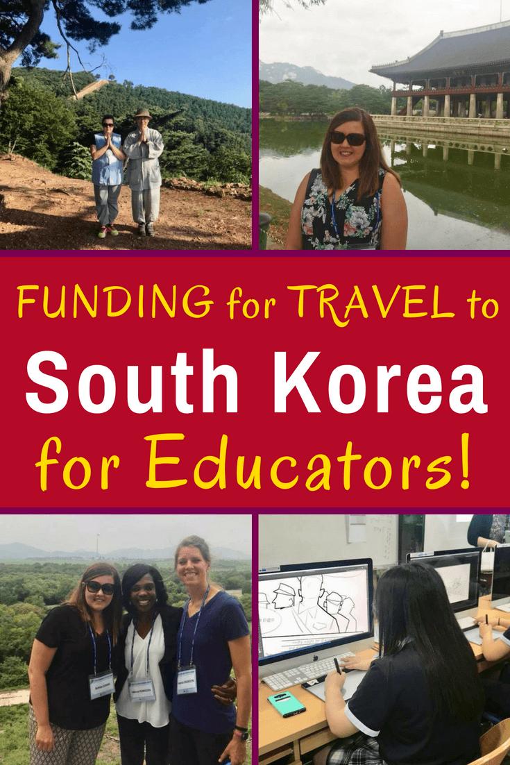 Seeking teacher travel funding to explore South Korea and beyond? This educator interview explains how a Korean War Legacy Foundation program supports educational travel. #Travel #Teachers #Education #TeacherTravel #TravelGrants #Korea #SouthKorea