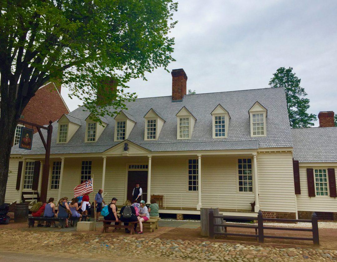 At the Colonial Williamsburg Teacher Institute.
