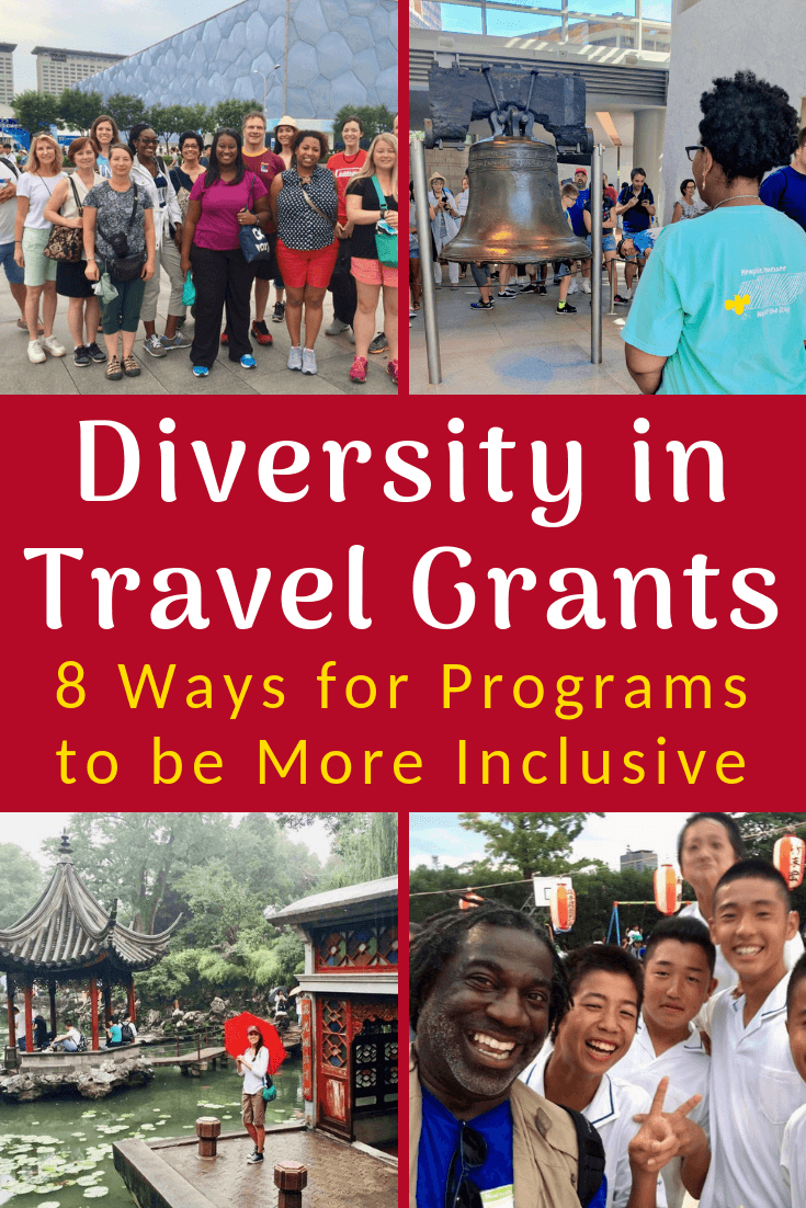 How can teacher travel grants be more inclusive of educators of color? 8 ways for programs to foster diversity. #Travel #Teaching #TeacherTravel #GlobalEd #Diversity #Education #GlobalEducation #Grants