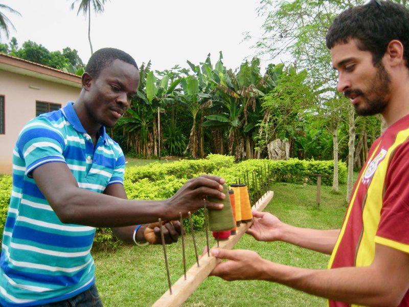 José Valenzuela in Ghana on a Fund for Teachers Grant
