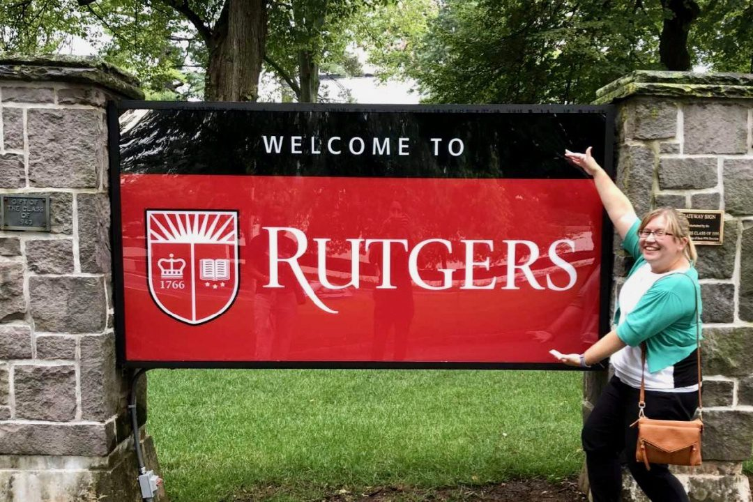 Trisha got to stay at Rutgers for the NEH teacher travel opportunity.