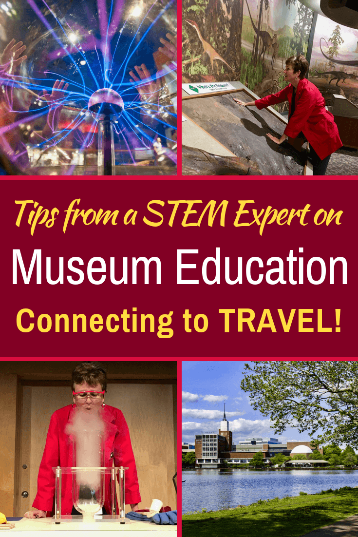 Learn from an expert at the Museum of Science in Boston about opportunities for travel, tips on field trips, and ideas about museum jobs for STEM educators!