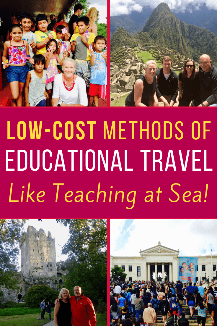 Ideas for global travel opportunities for teachers and school administrators (like jobs at Semester at Sea!) by education expert & author, Peggy Campbell-Rush.