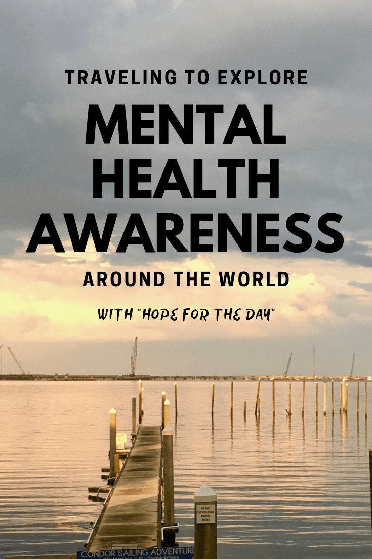 Inspiring teacher traveling to explore mental health awareness around the world using the arts, education, and Hope for the Day to support emotional healing. #mentalhealth #education #travel #teaching
