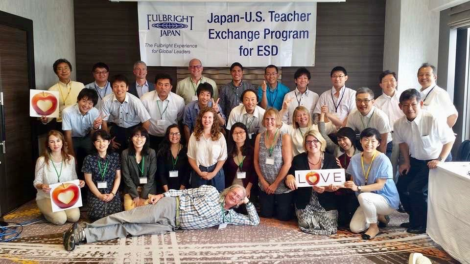 Japan Fulbright ESD Group Picture