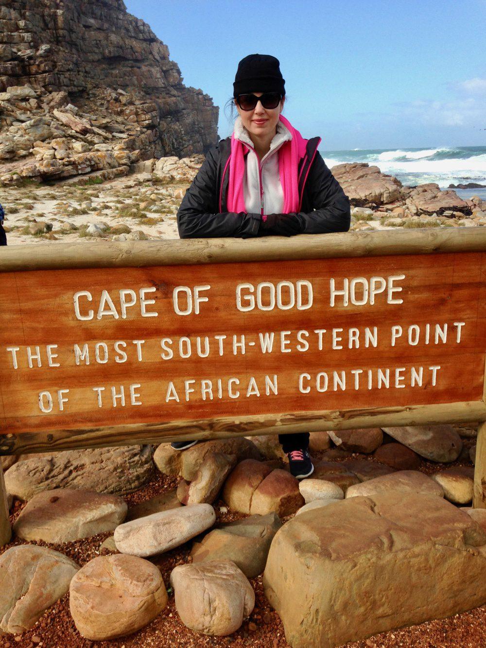 Teacher Appreciation ideas: Cape of Good Hope sign