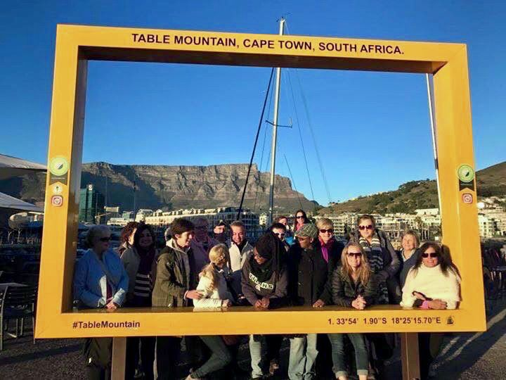 Table Mountain in South Africa.
