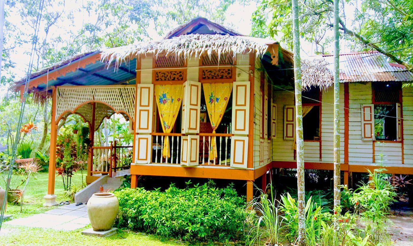 A beautiful home at the Suka Suka homestay.