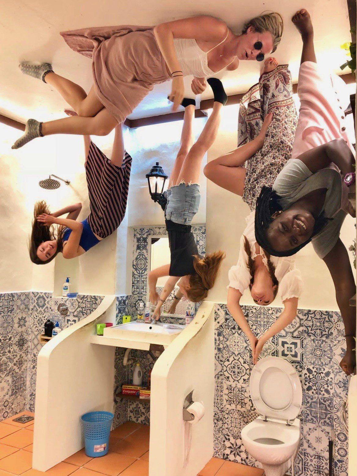 Upside-down museum bathroom, Penang