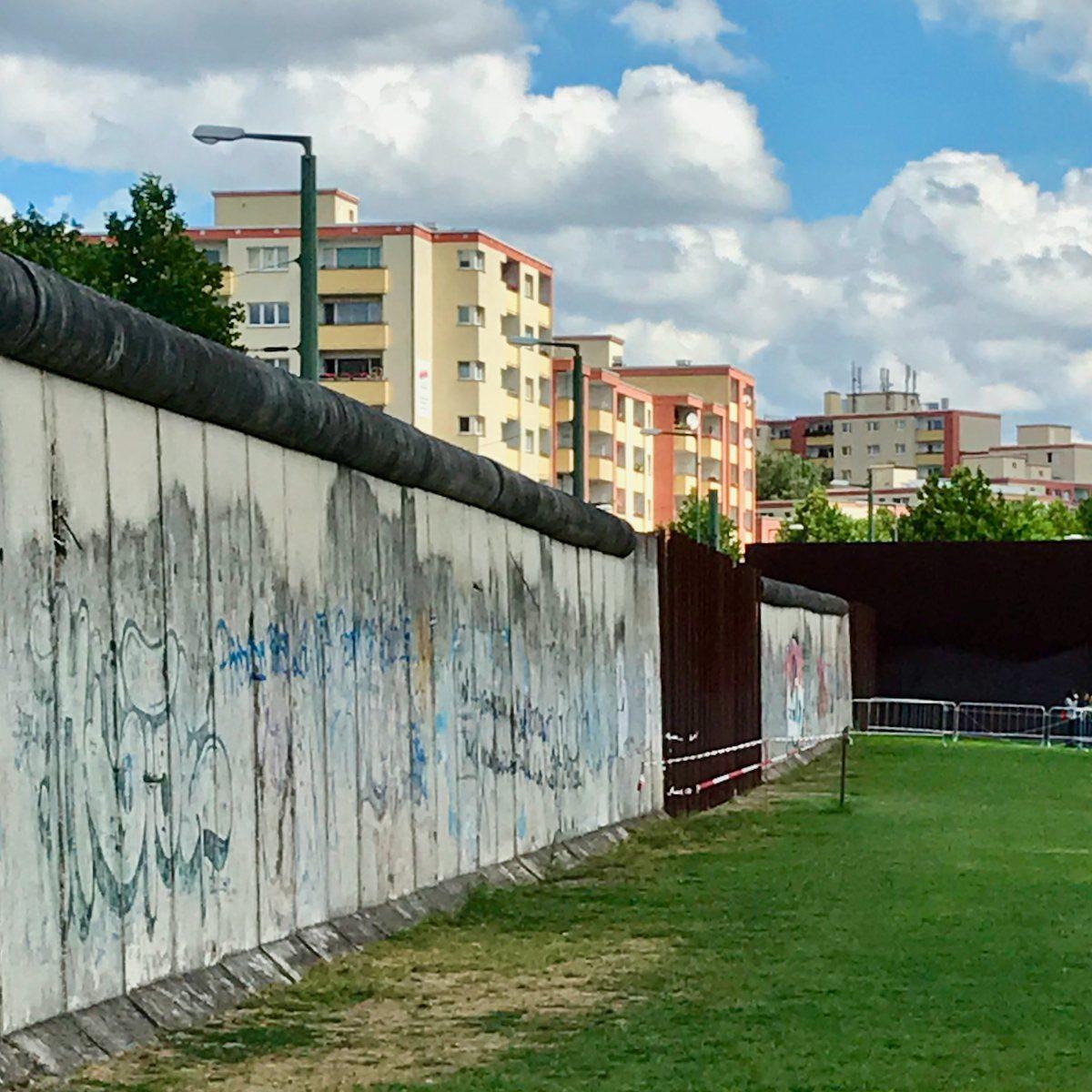 The Berlin Wall Memorial in Germany.
