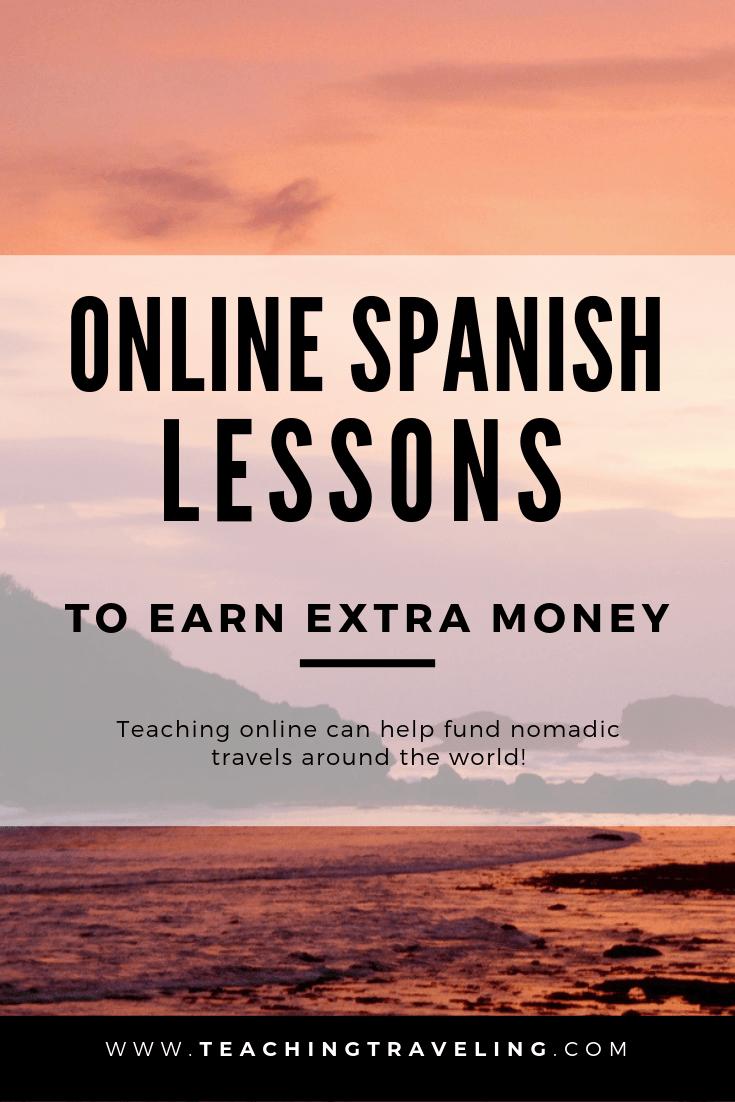 Tutoring Spanish Lessons Online to Fund Nomadic Travel