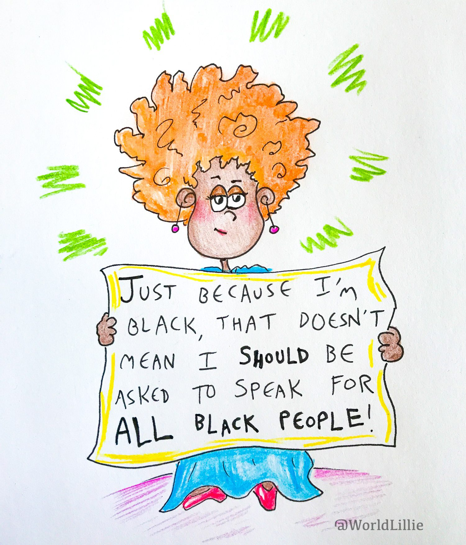 Microaggression: Speaking for all Black people