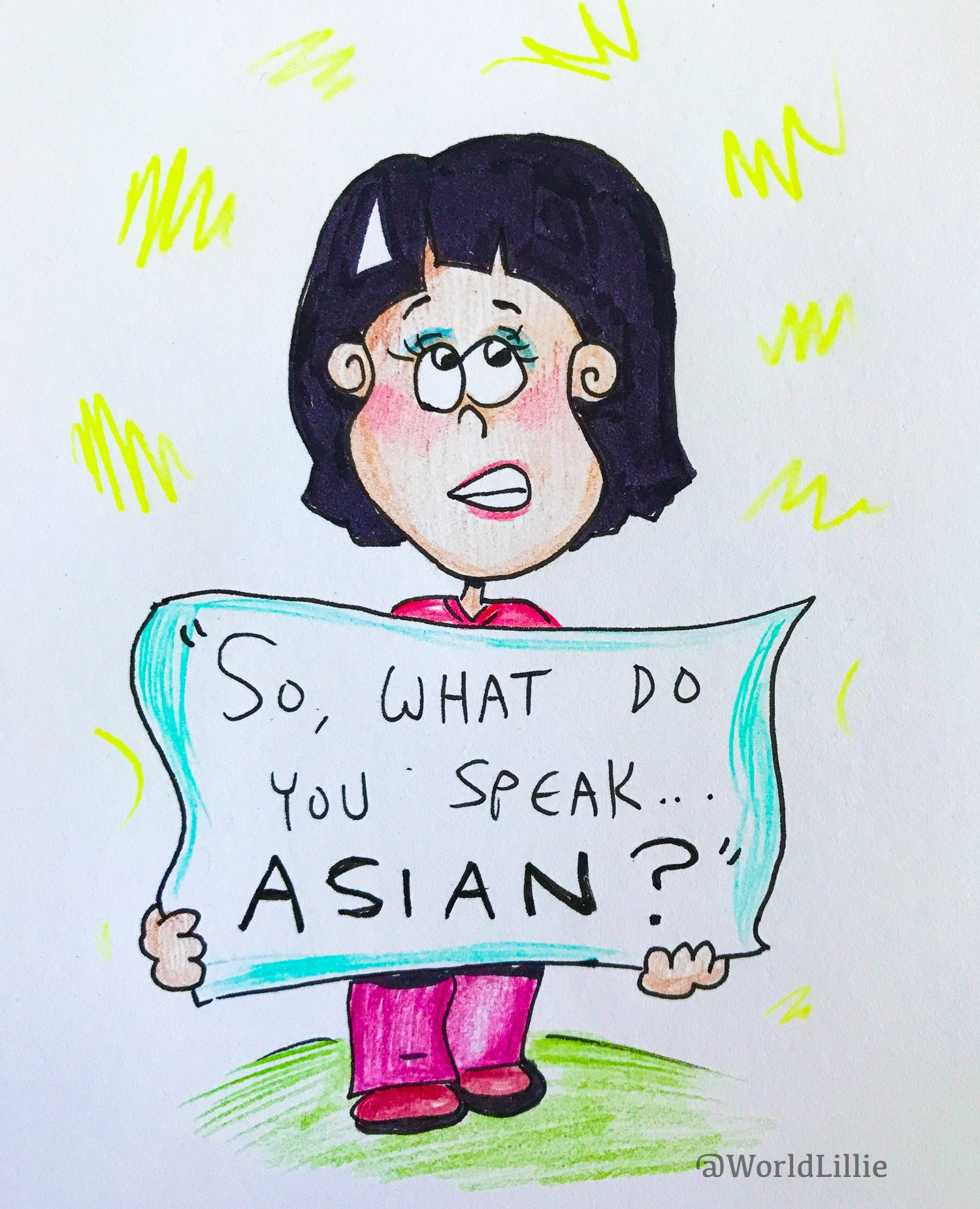 Microaggression: Do you speak Asian?