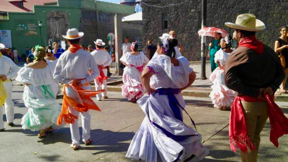 Traditional dance in Costa Rica.