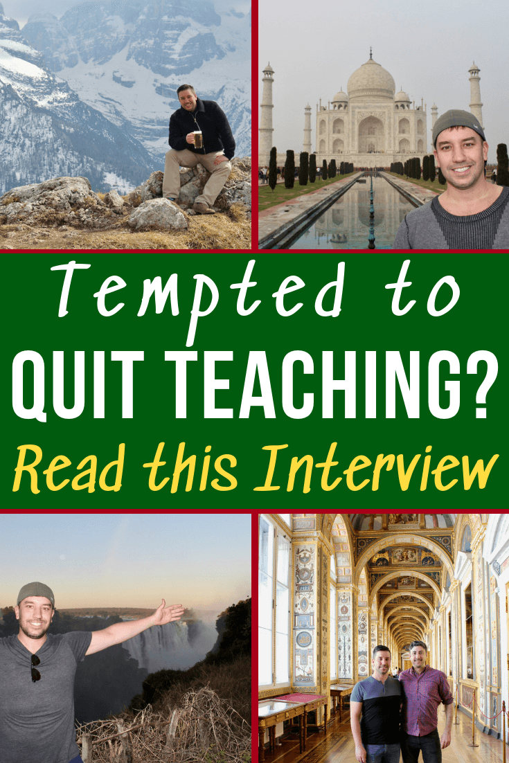 quit teaching