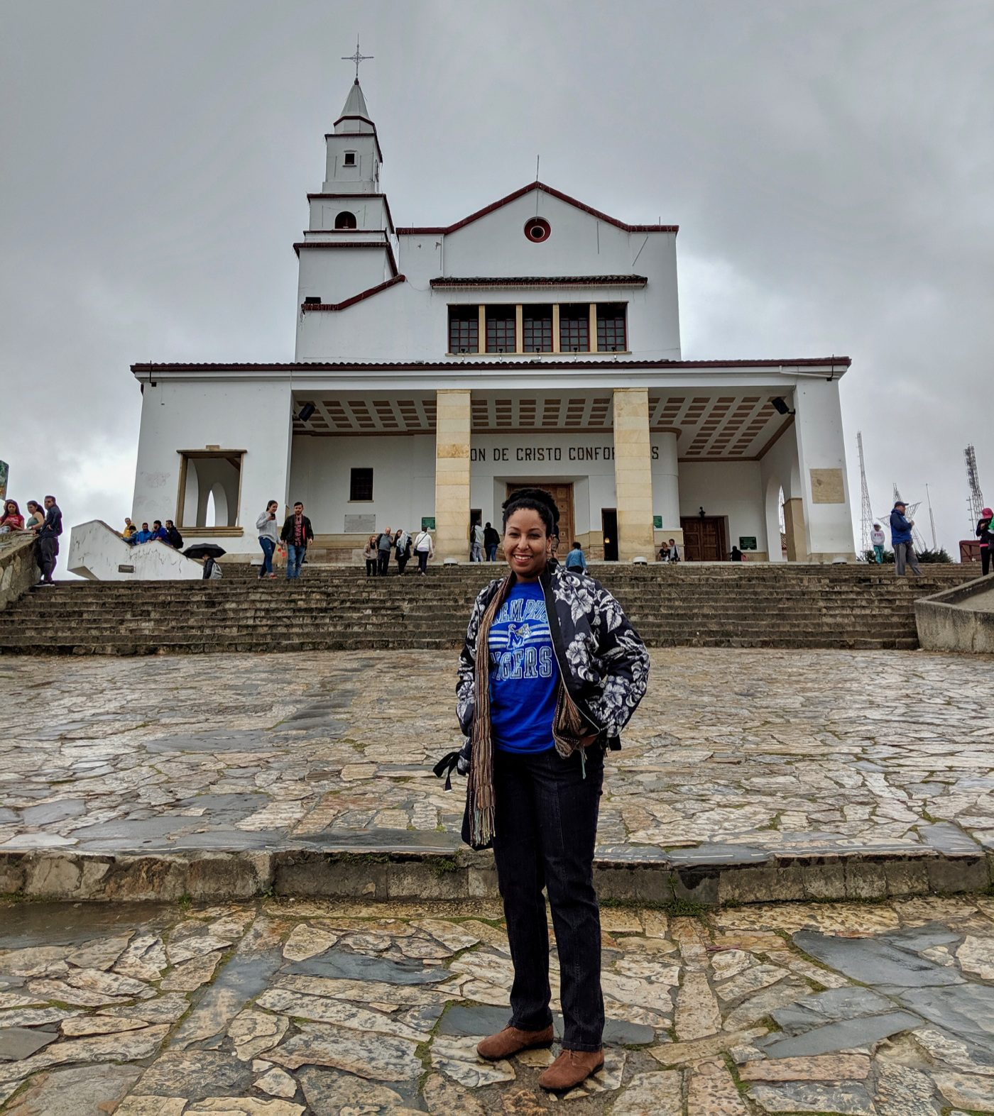 Church at Monserrate in Bogota, Colombia.