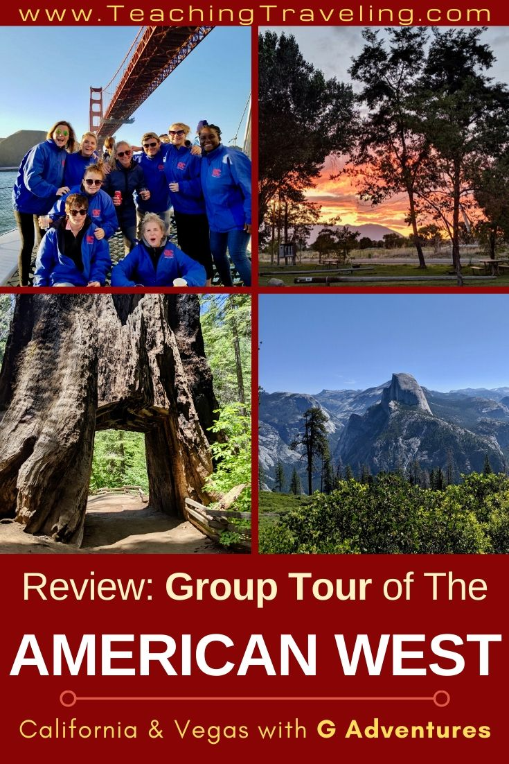 Tour of the American West with G Adventures