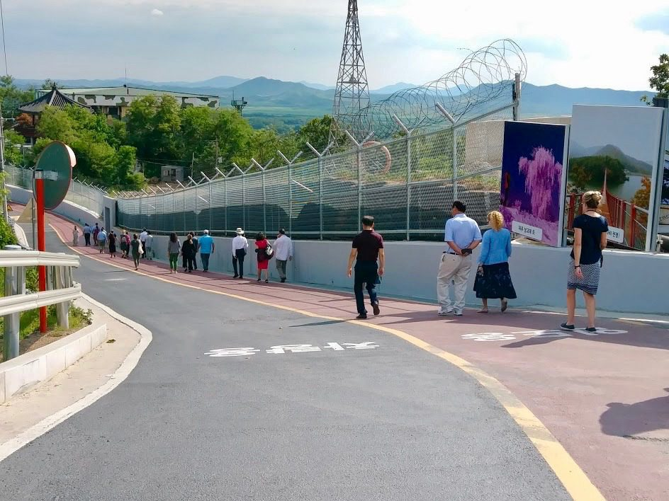 Visiting the DMZ.