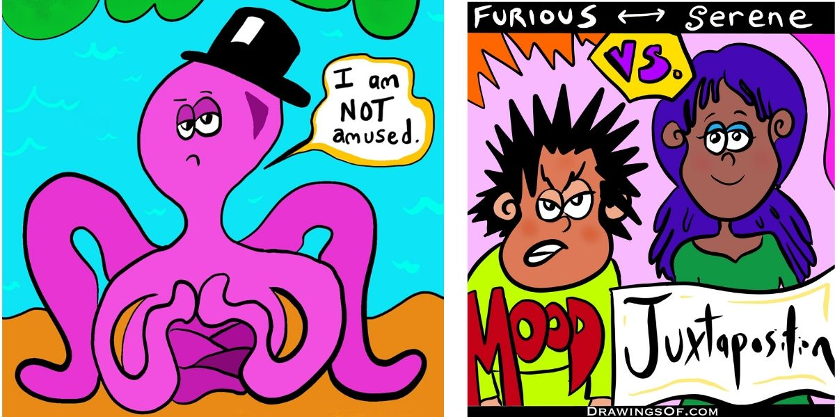 Cartoons from Drawings Of...