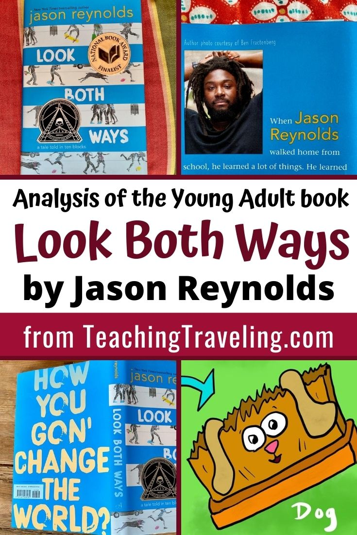 Analysis of the young adult book Look Both Ways by Jason Reynolds