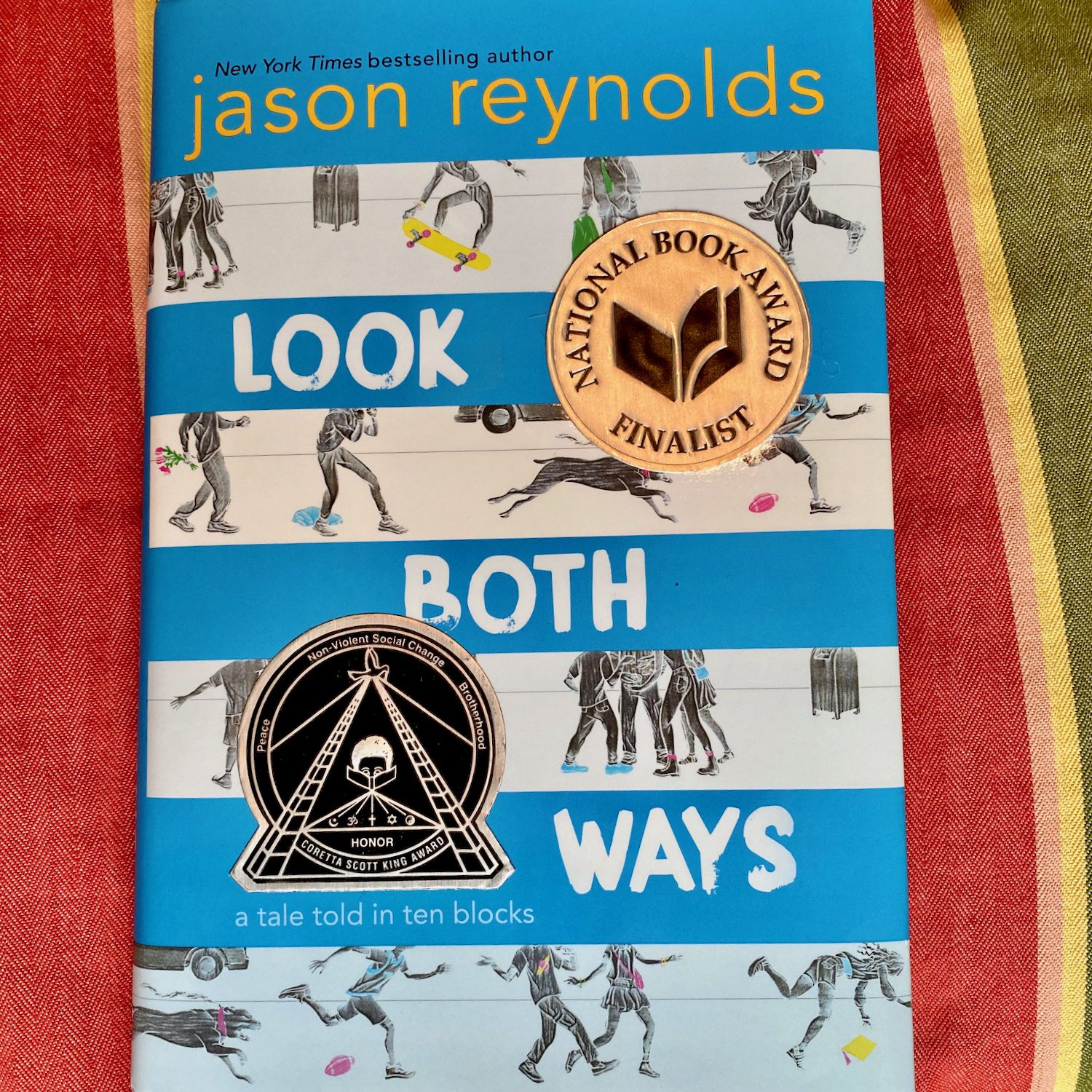 Front cover of Look Both Ways by Jason Reynolds
