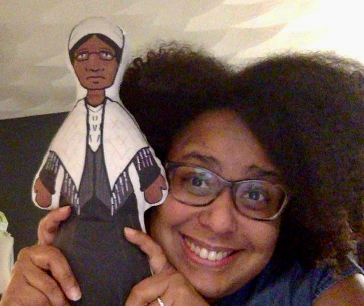 Sojourner Truth doll for Black history educational toys