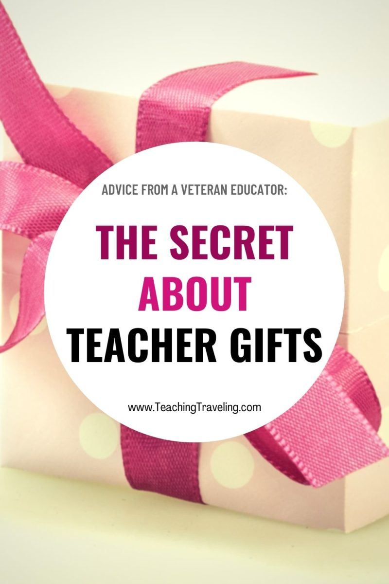 The best gifts for teachers