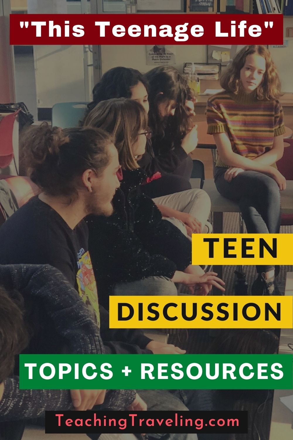 Discussion topics for teens