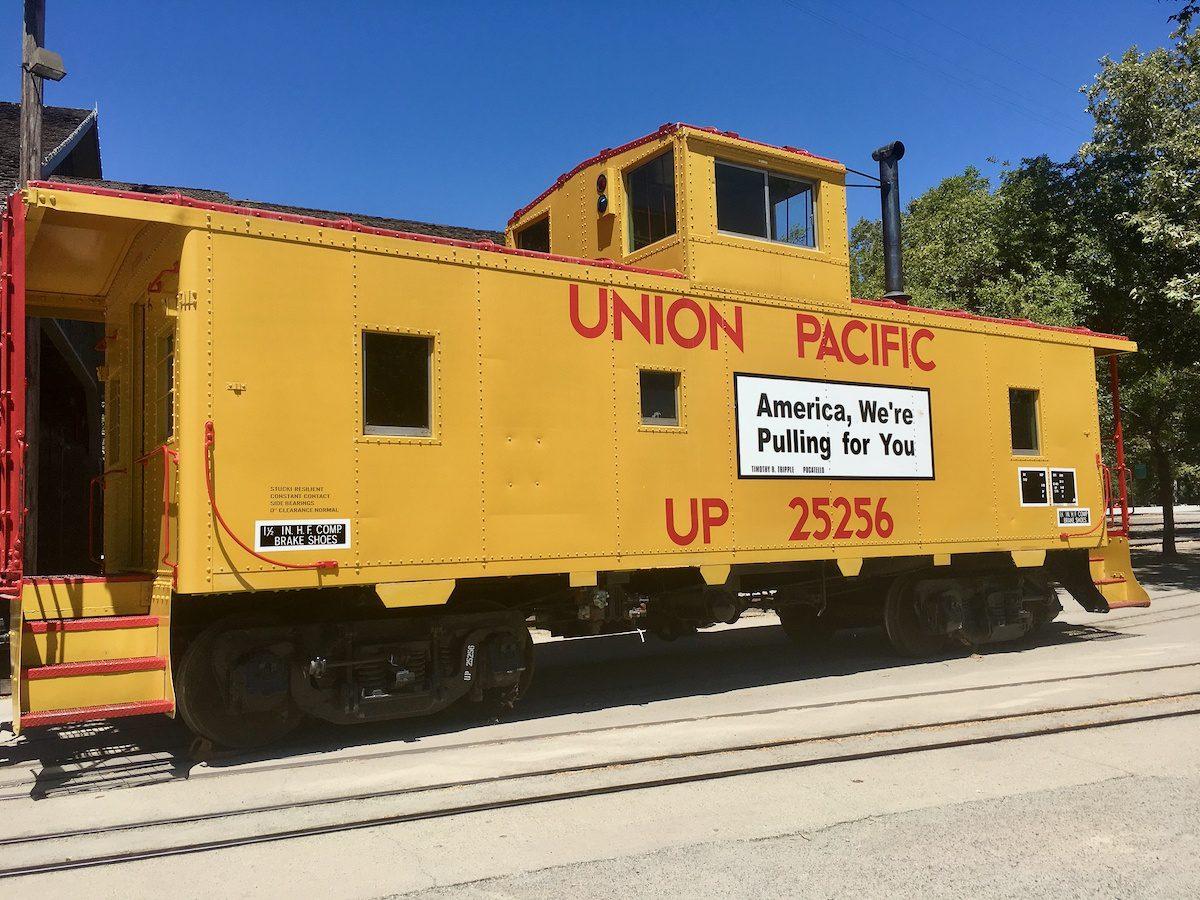 The Union Pacific Train.