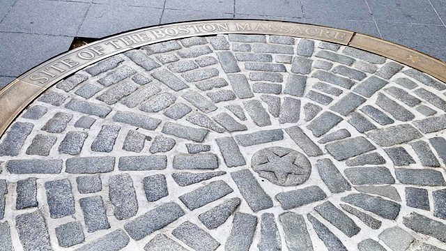 The site of the Boston Massacre.