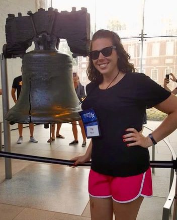 The Liberty Bell in Philadelphia, PA.